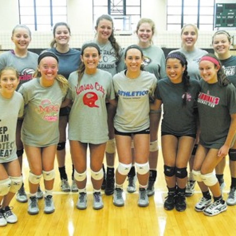 Mehlville High head coach Samantha Mueller is looking for her volleyball team to become one of the tougher teams in its conference. Bill Milligan photo
