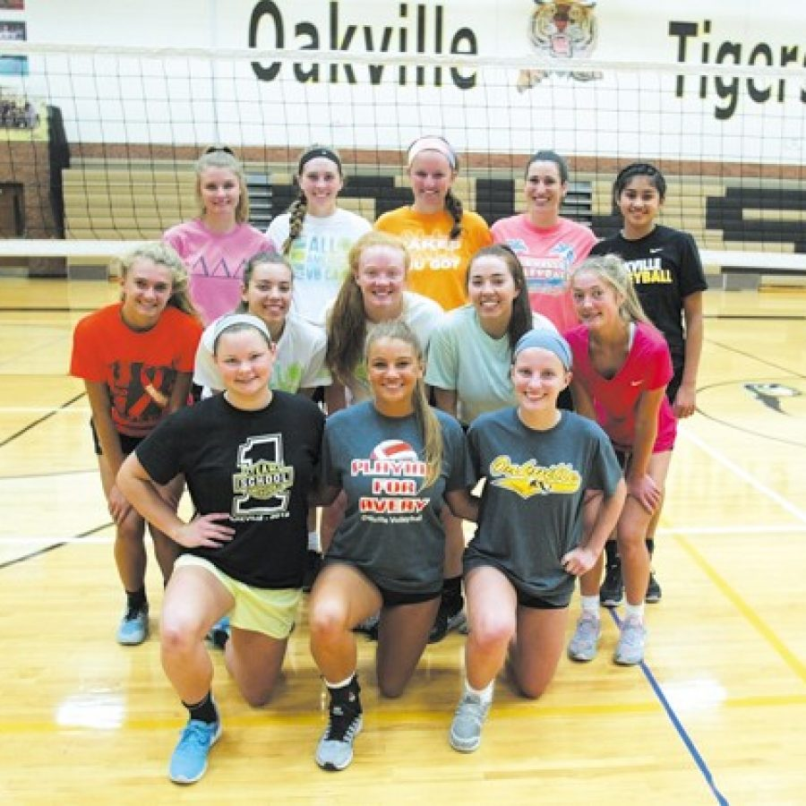 Oakville High head coach Kristina Kanallakan is optimistic about the prospects for her new volleyball team this year. Bill Milligan photo