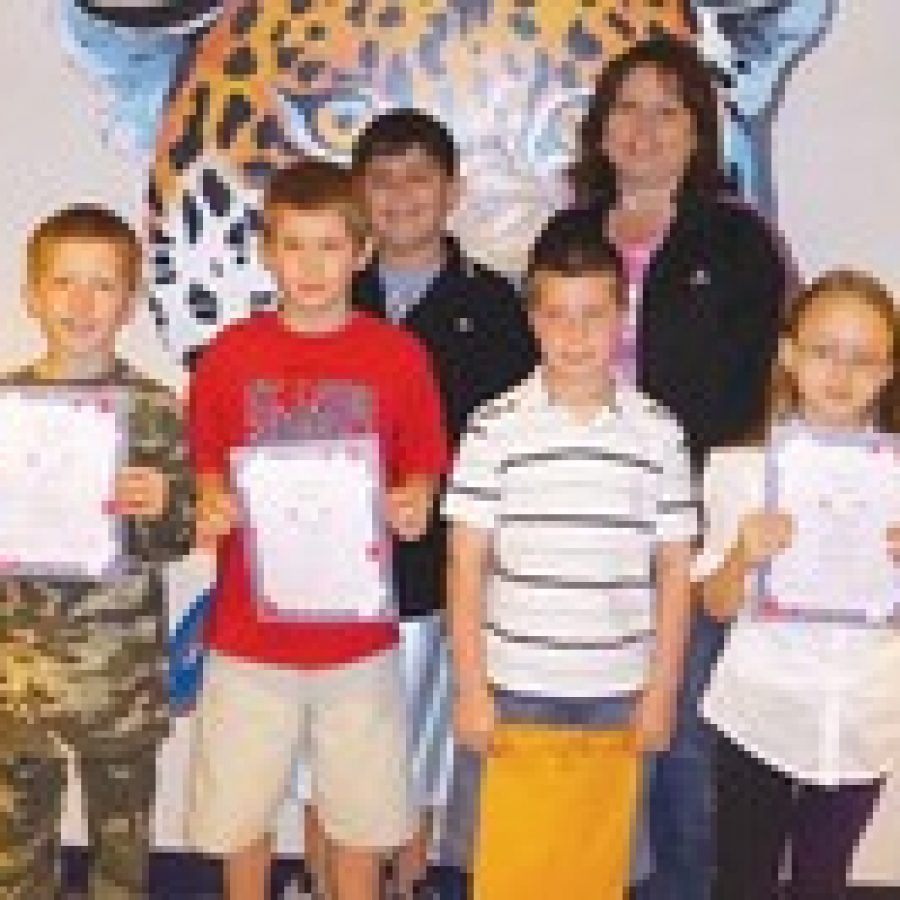 Terrific Kids of the Month honored