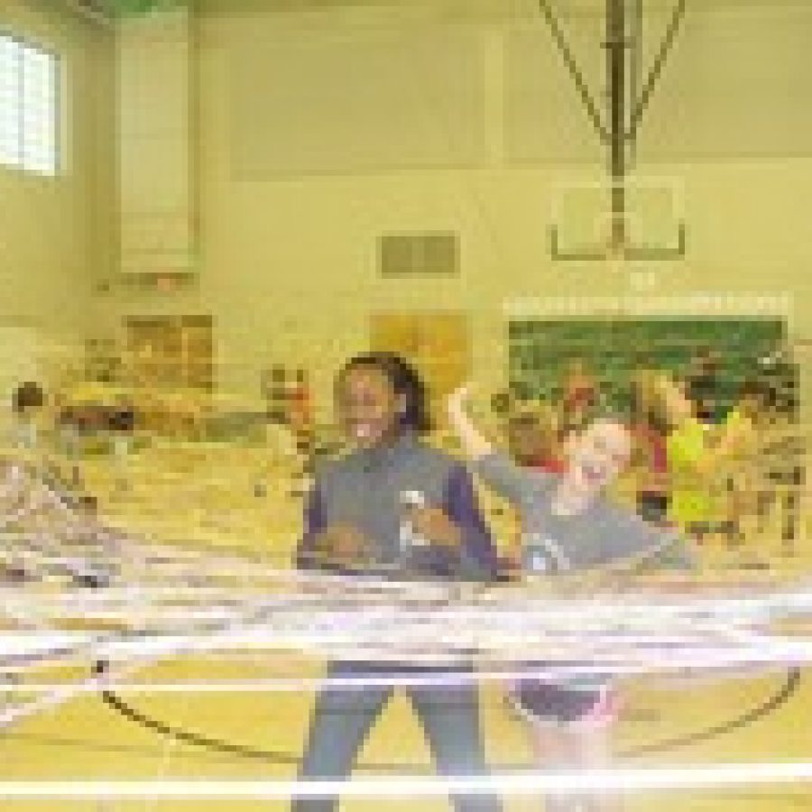 Spider web an athletic exercise