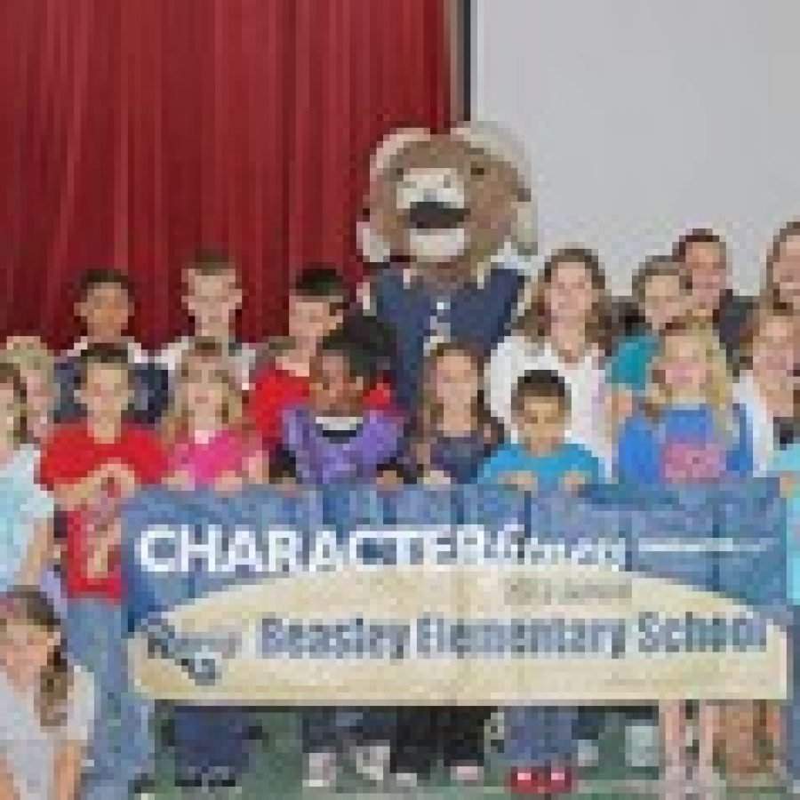 Beasley Elementary honored as Character Fitness Model School