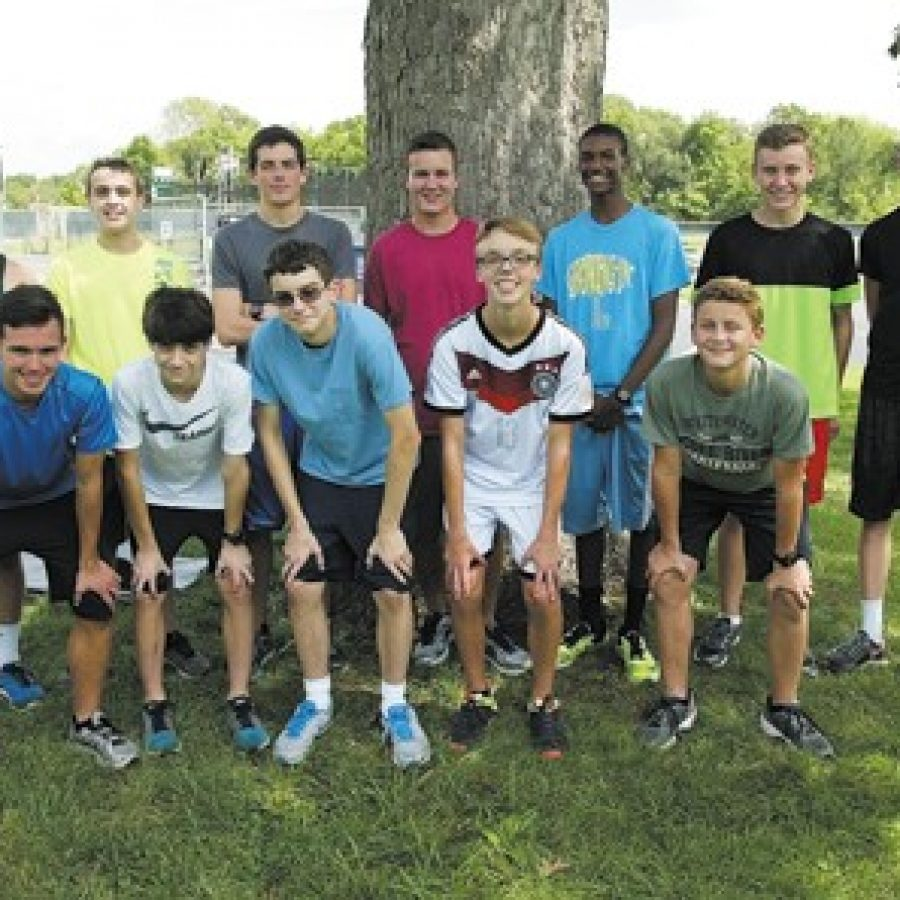Entering the 2016 season in good physical condition should give the Mehlville boys' cross-country team an edge this year, according to head coach Mark Ehlen. Bill Milligan photo