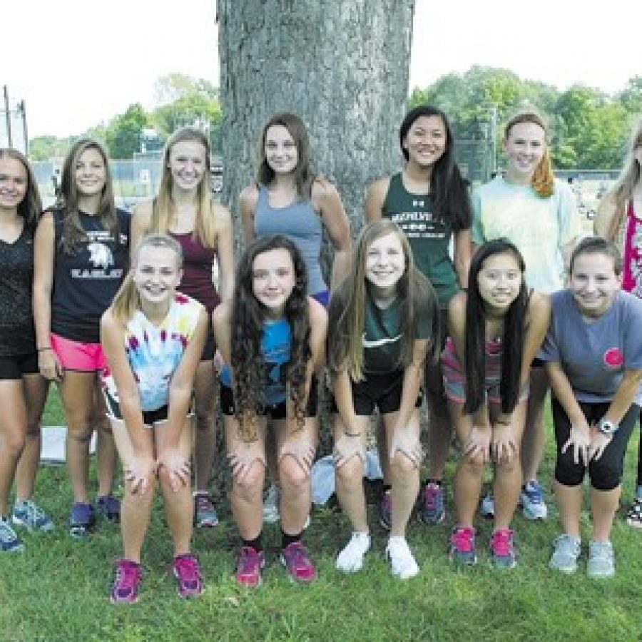 Mehlville High head coach Mark Ehlen is excited about the potential of his young girls' cross-country team this year. Bill Milligan photo