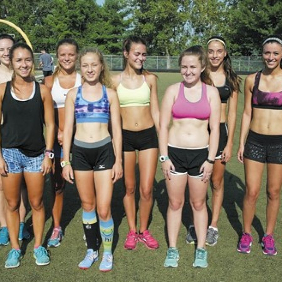Tigers' head coach Drew Moore told the Call he was excited about this year's Oakville girls' cross-country squad and has high expectations for the team. Bill Milligan photo