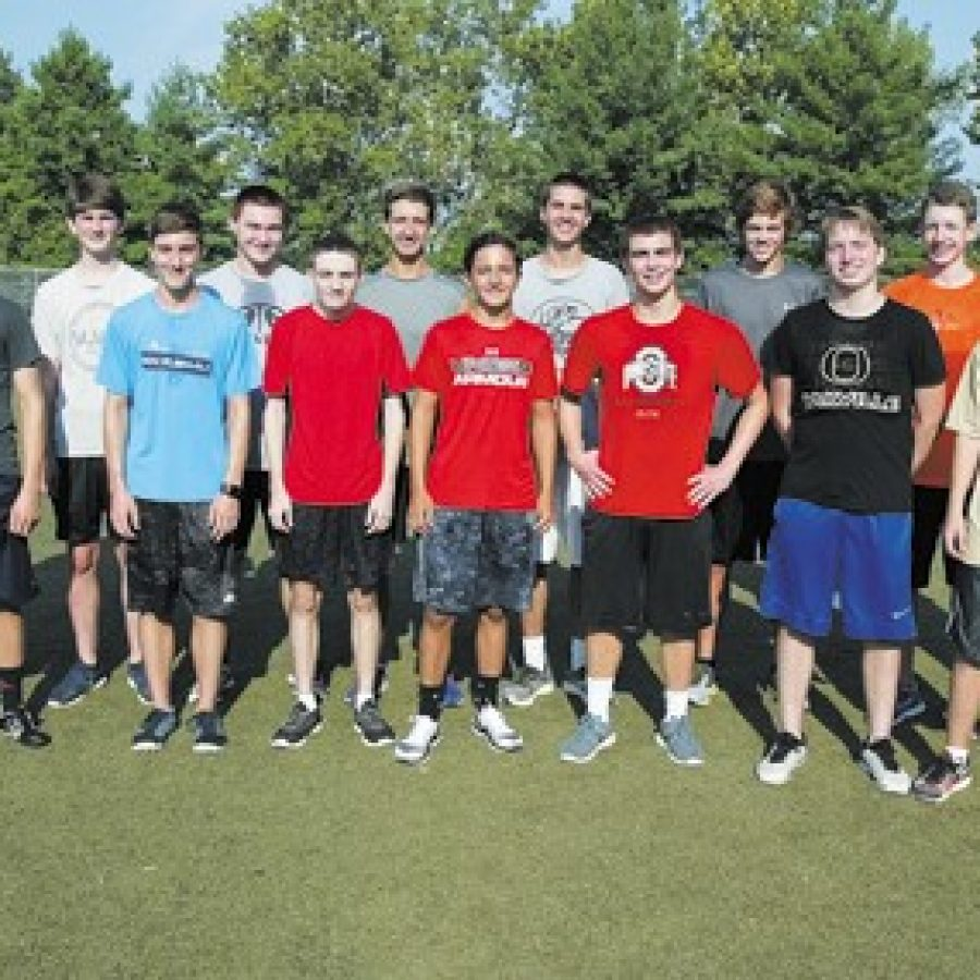 The Oakville High boys' cross-country team is heavily weighted with returning talent, according to head coach Kevin Niedringhaus. Bill Milligan photo