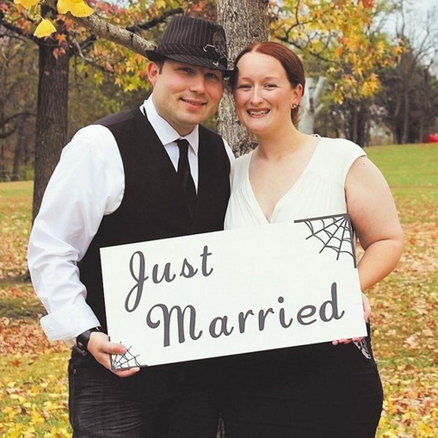 McMillan, Fielder exchange wedding vows