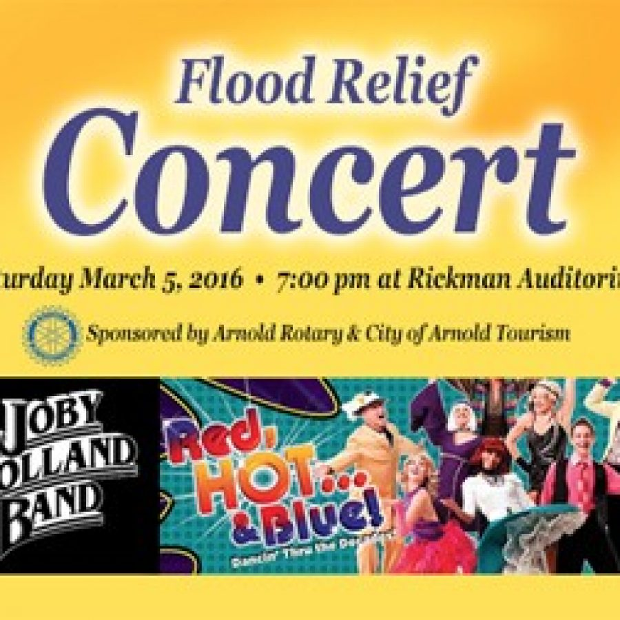 Concert to benefit victims of recent flooding