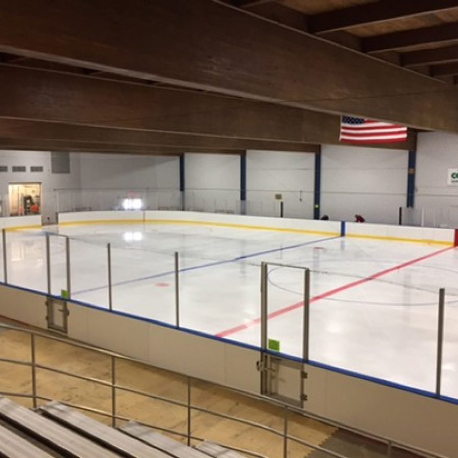 The new Kennedy ice rink