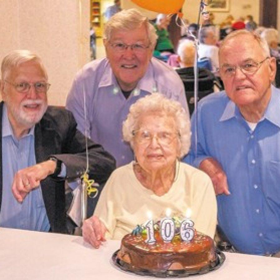 Oakville resident marks 106th birthday