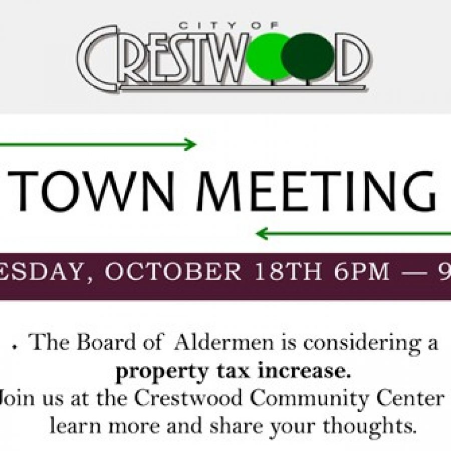 Crestwood meeting to obtain input on tax-rate hike set Tuesday