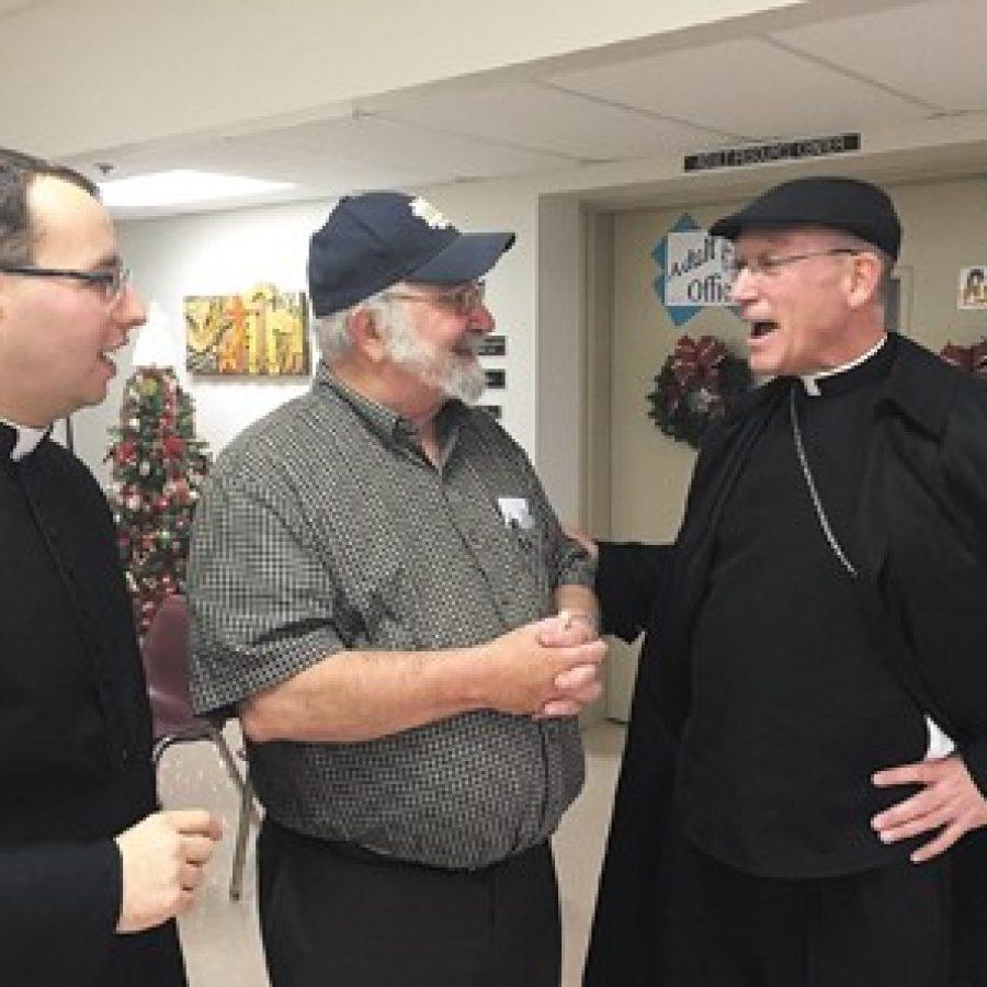 Auxiliary bishop visits QAS