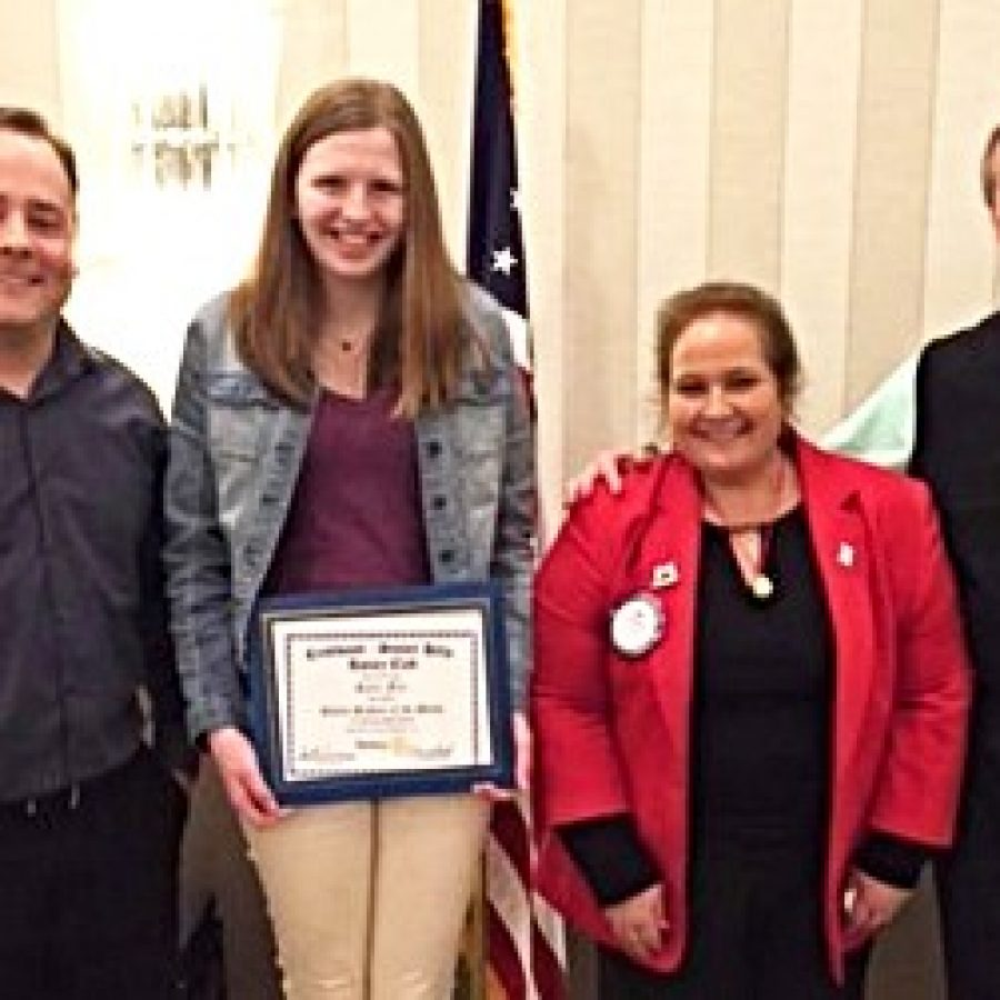 Rotary names Student of the Month