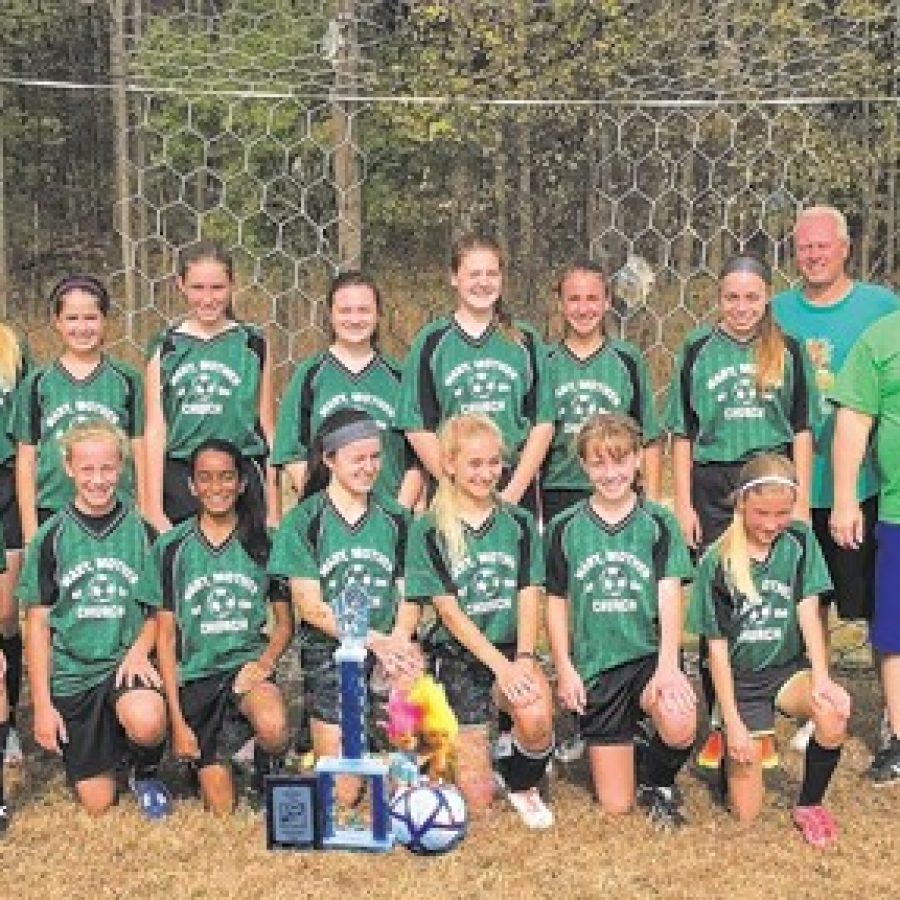 Girls capture soccer championship