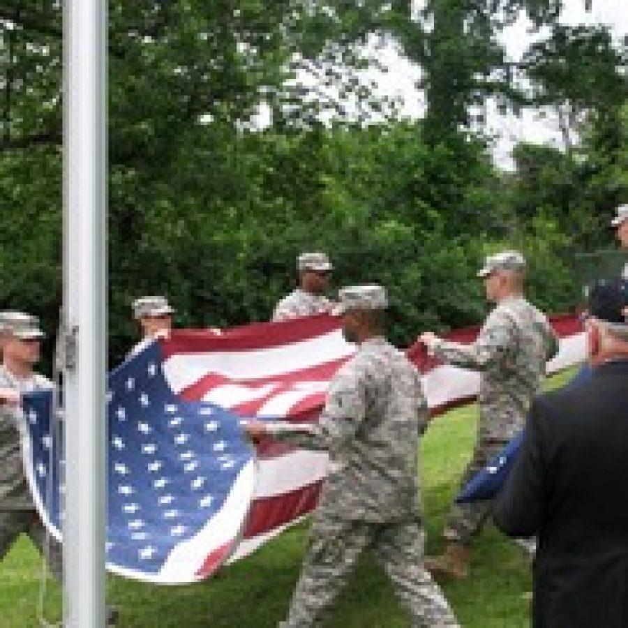Oakville Elks mark Flag Day