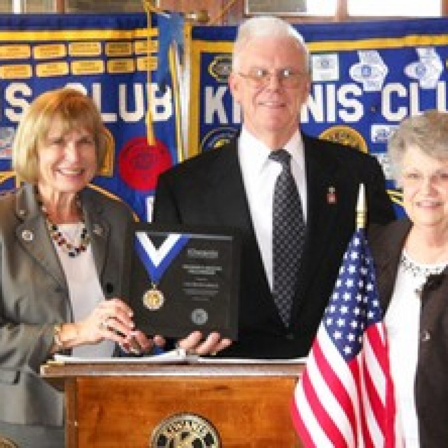 Local Kiwanis Club member receives Hixson Award