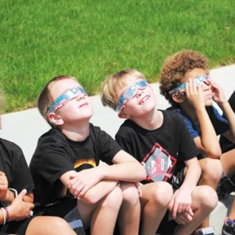 South county students view total eclipse