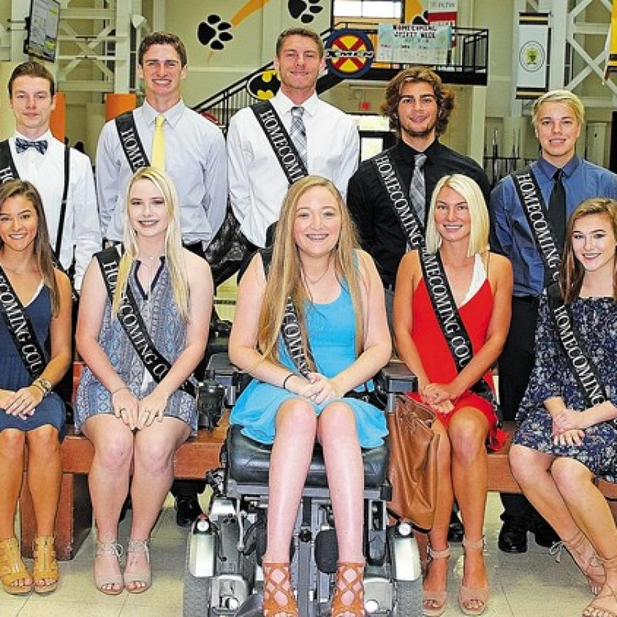 Oakville High selects Homecoming Court