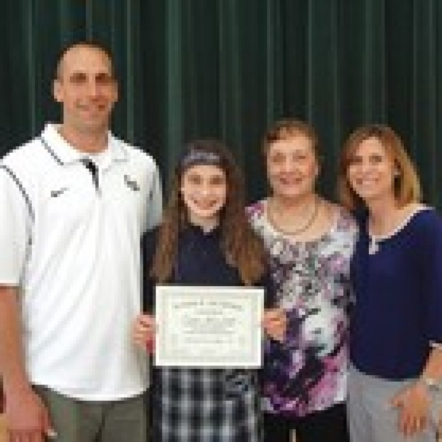 Lind Scholarship winner Emma Lind.