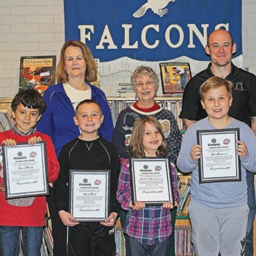 Forder Elementary Terrific Kids of the Month recognized