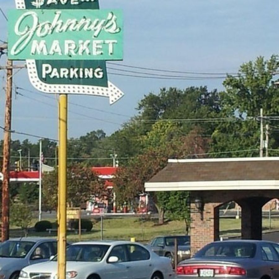 Lindbergh Schools is constructing a two-story Central Office building on the site of the former Johnny's Market at Sappington and Gravois roads. This photo of Johnny's Market, a south county institution that featured a variety of local produce and foods, was taken shortly before the store closed its doors in 2012 after 68 years in business.