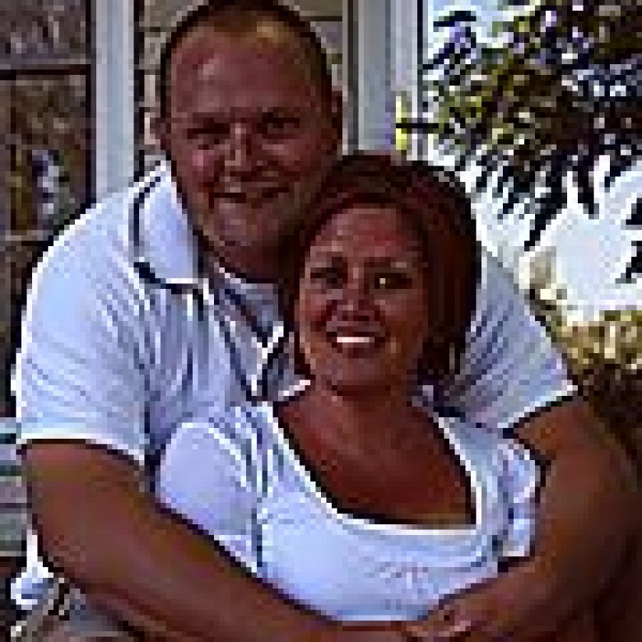 Aaron Narup and Denise Conley
