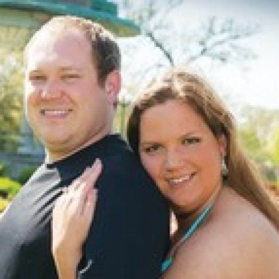Jason Clark and Julie Finazzo