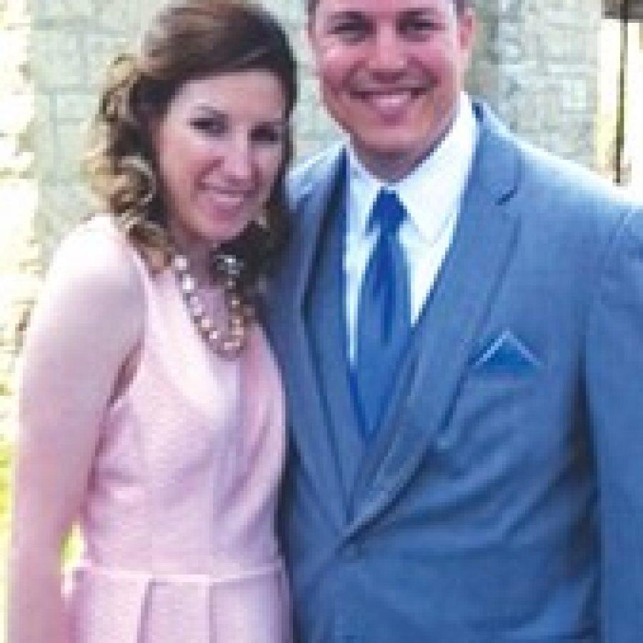 Sarah Riek and Kyle Manning