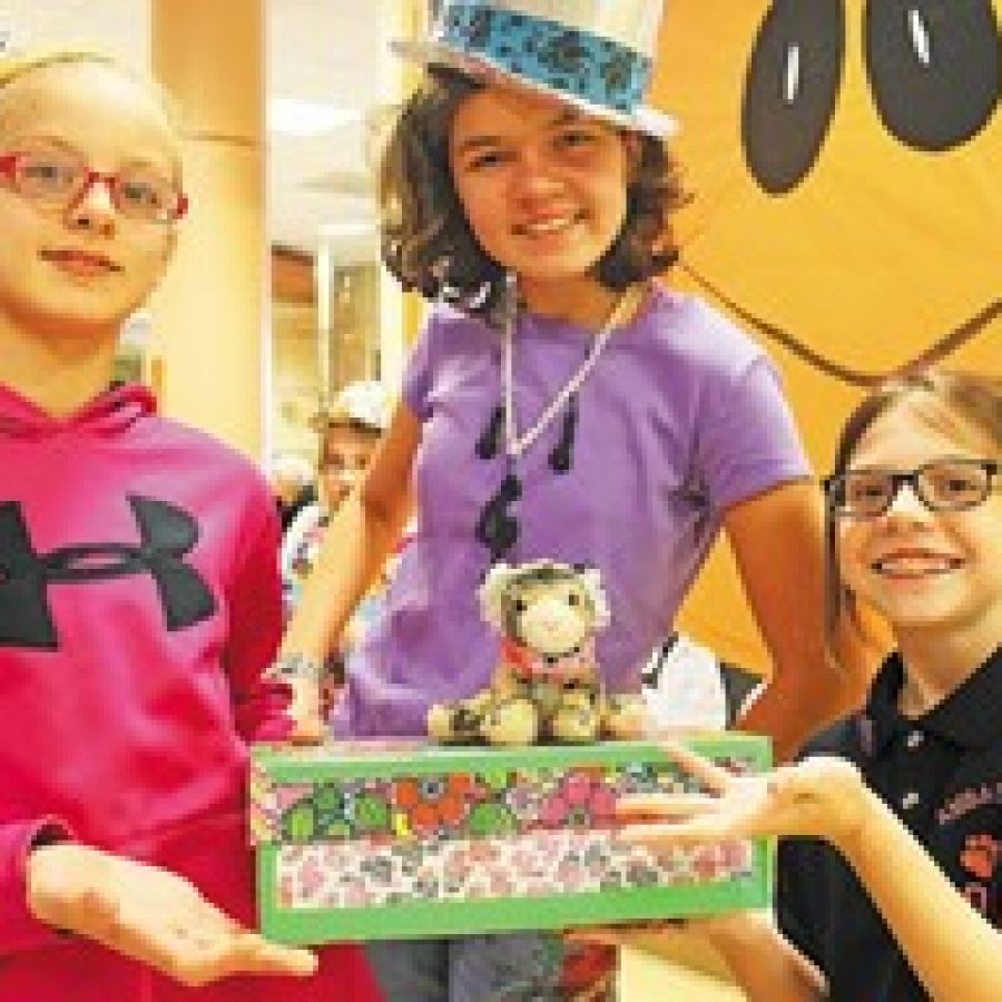 Oakville Elementary students display their creativity