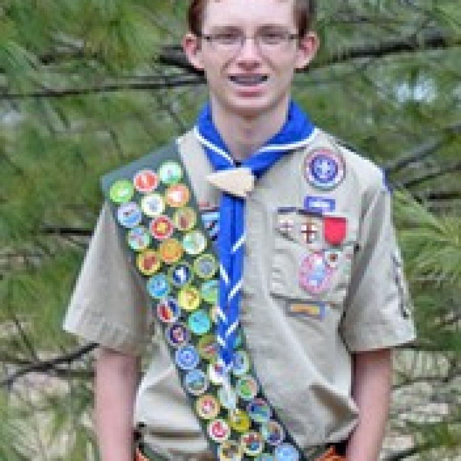 Joe Fritsche, a member of Boy Scout Troop 661 in Oakville, earned the rank of Eagle Scout when he was 14 years old.