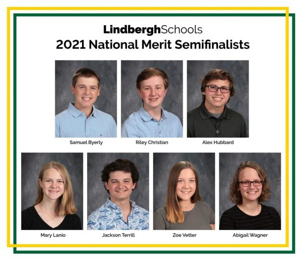 The 2020 National Merit semifinalists from Lindbergh Schools.