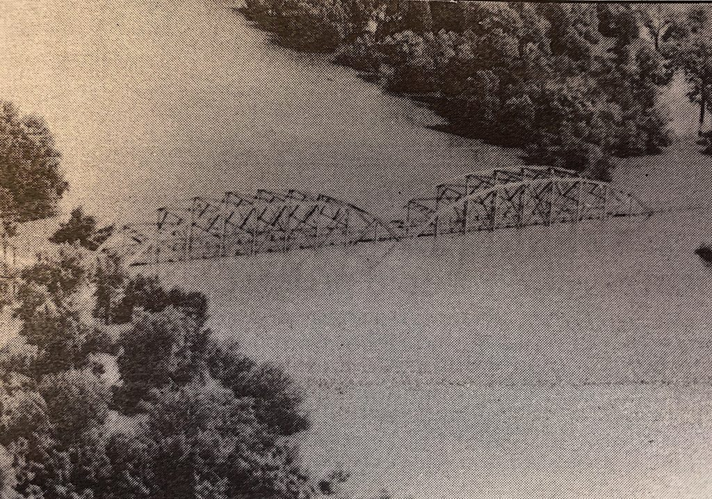 The+Telegraph+Road+bridge+over+the+Meramec+River+may+have+been+damaged+by+the+flooding.+Photo+by+Bill+Milligan.+