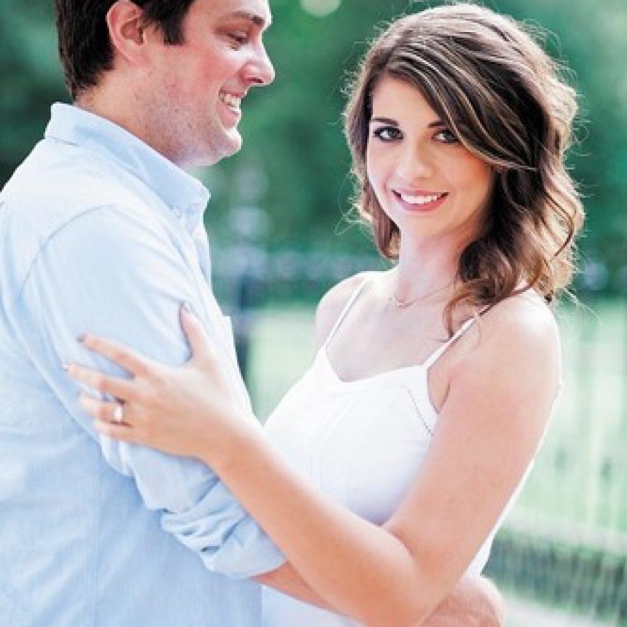 Kurt Fultz and Katie Ingold