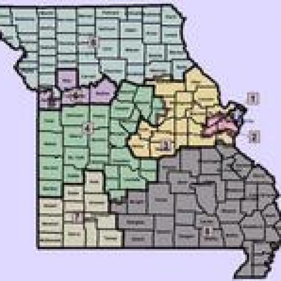 Statewide Congressional Redistricting Map, Senate Passed Version