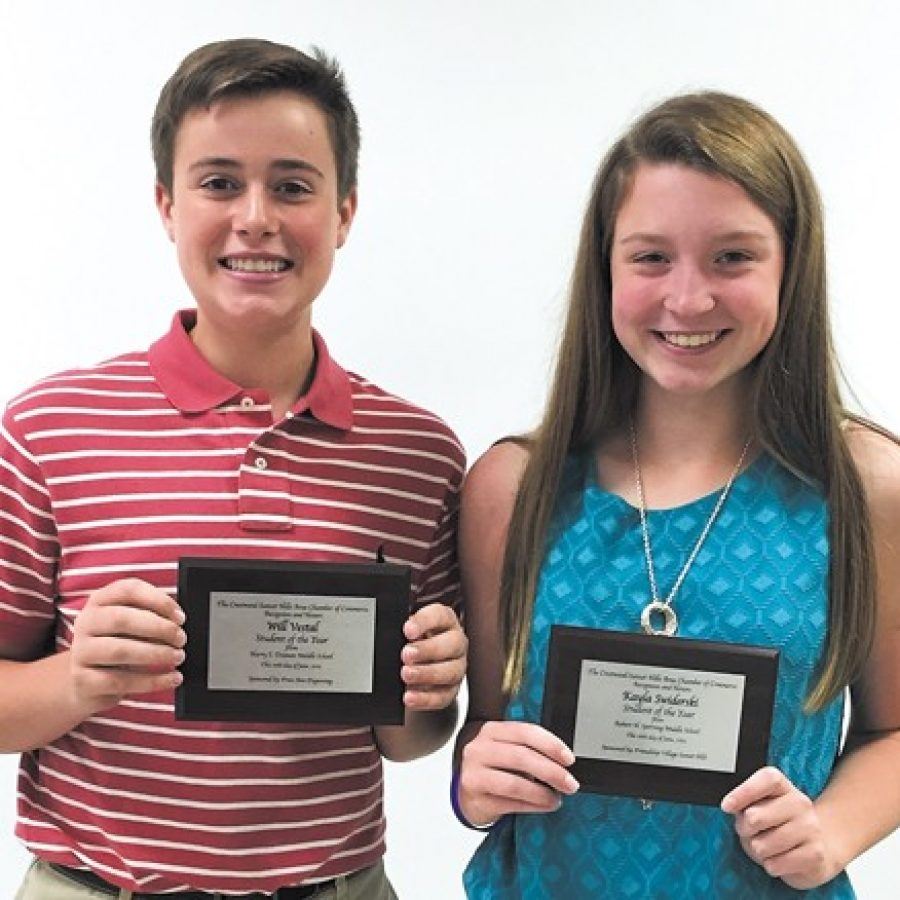 Crestwood-Sunset Hills Chamber honors Students of the Year