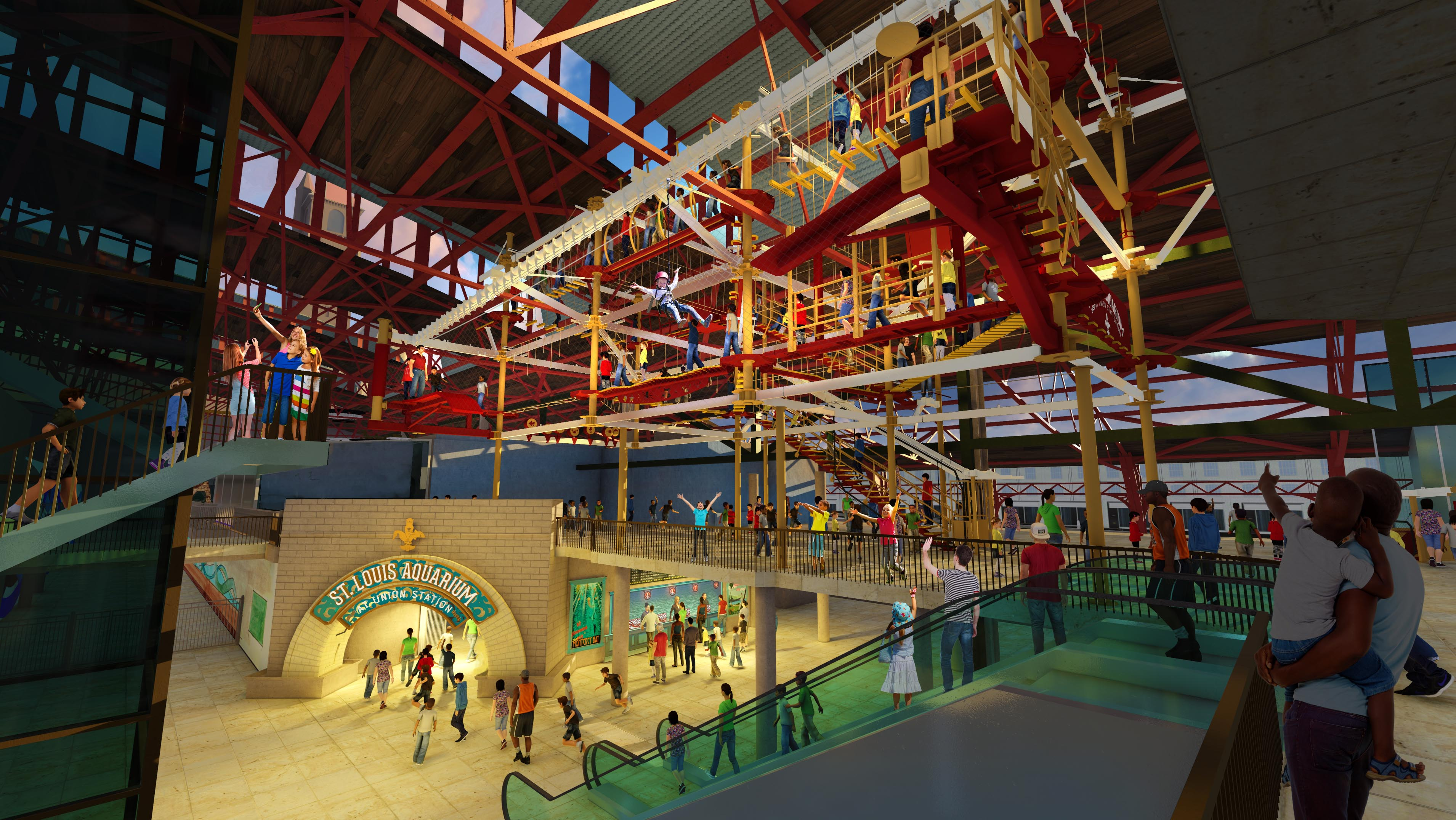 PHOTOS: Long-awaited St. Louis Aquarium will open ...