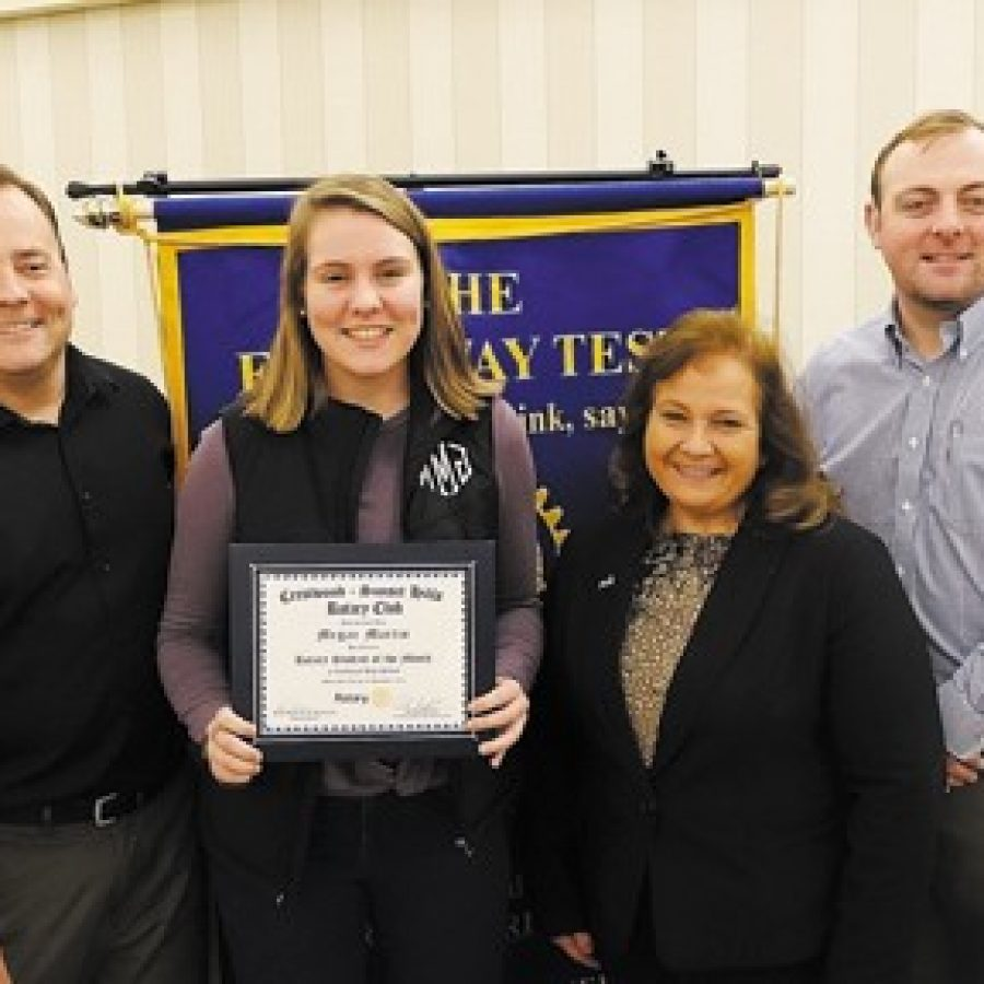 Crestwood-Sunset Hills Rotary Club honors Lindbergh student