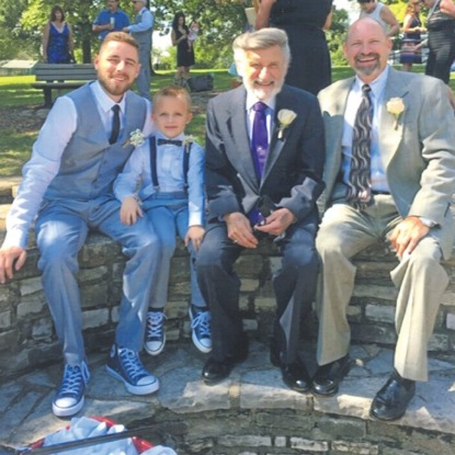 Local family marks four generations