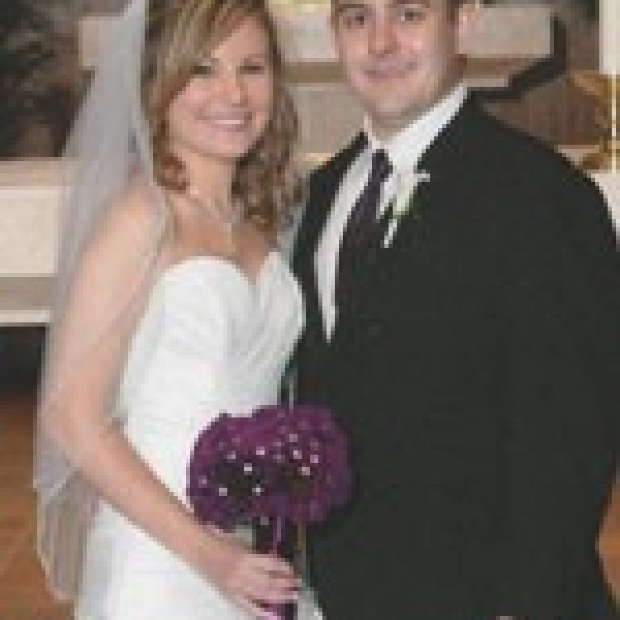 Walsh, Effinger exchange vows at Queen of All Saints Church