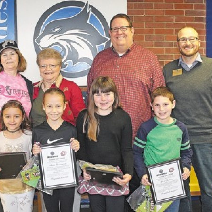 Terrific Kids of the Month honored at Blades Elementary