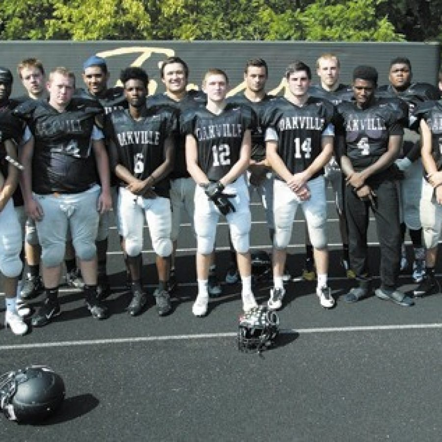 The Oakville football Tigers are looking for their first win of the season when they face Parkway Central Friday night.