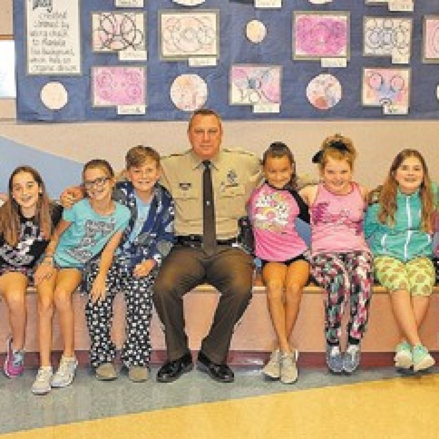 Mehlville schools hold 'PJs for Police' event