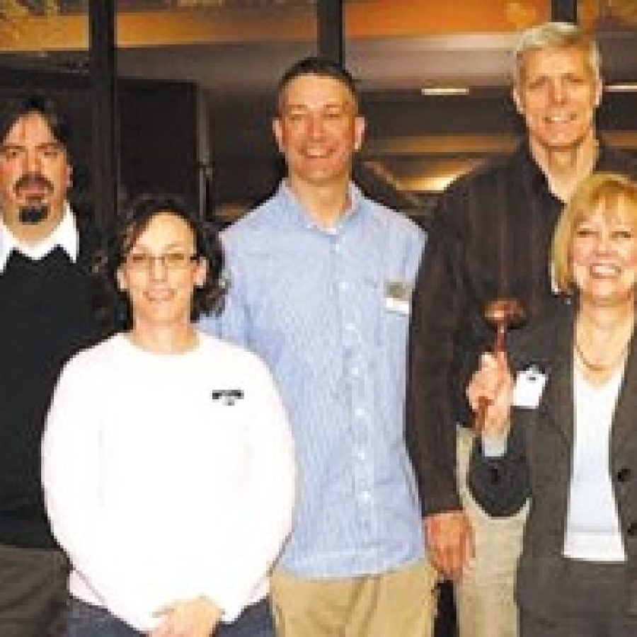 South County Toastmasters install officers