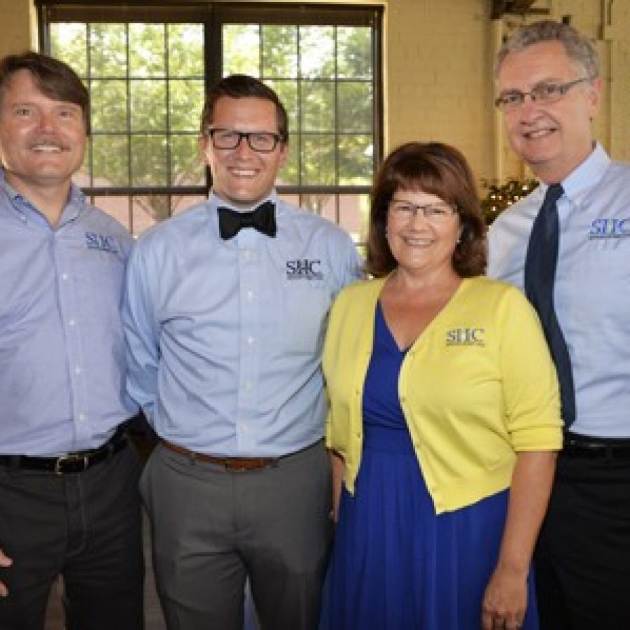 Seniors Home Care recently was honored by Home Care Pulse. Pictured, from left, are: Al Kelley, CEO; Ryan Whittington, managing partner; Kit Whittington, founder; and Mark Whittington, human resources administrative assistant.