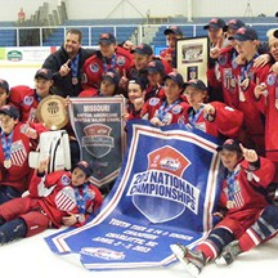 Local hockey team captures national championship