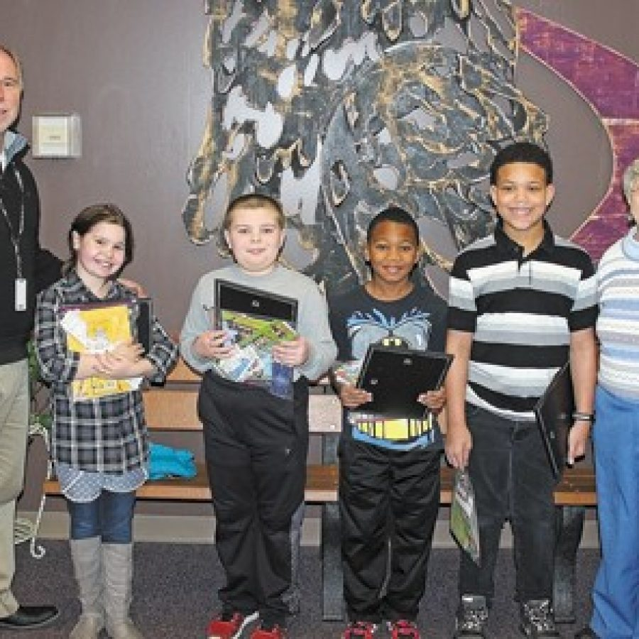 Terrific Kids of the Month recognized at Hagemann Elementary