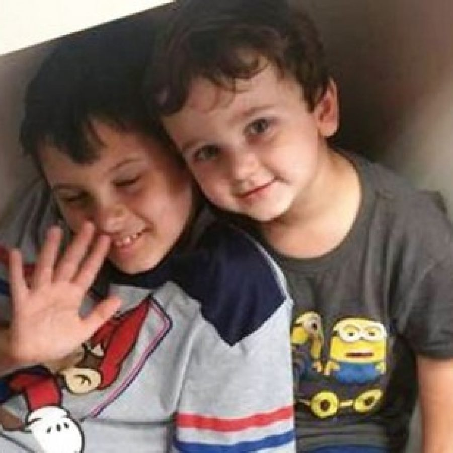 Caleb Lee, left, and his younger brother Evan Lee, pictured on the family's GoFundMe page.