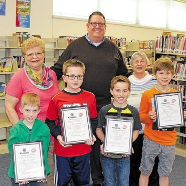 Kiwanis Club of South County honors Terrific Kids at Rogers Elementary
