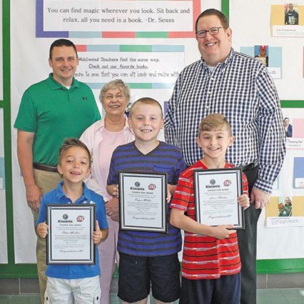 Wohlwend Terrific Kids honored