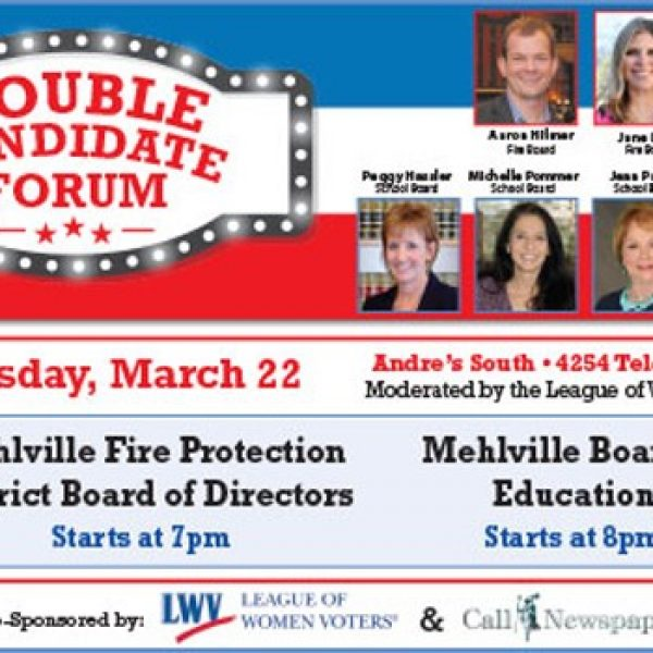 See the candidates at the Call's dual candidate forum for Mehlville fire board and school board Wednesday, March 22.