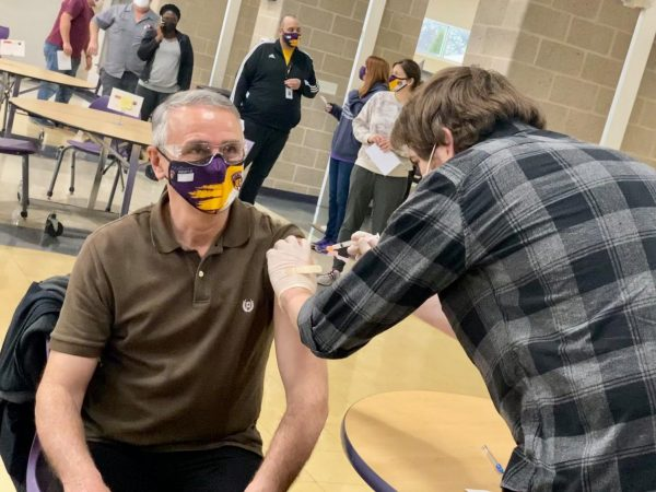 The Affton School District held a vaccination event for its teachers and other staff members the first day teachers were eligible for the COVID-19 vaccine Monday, March 15. Other school districts like Mehlville and Lindbergh have also hosted events to vaccinate their staff.